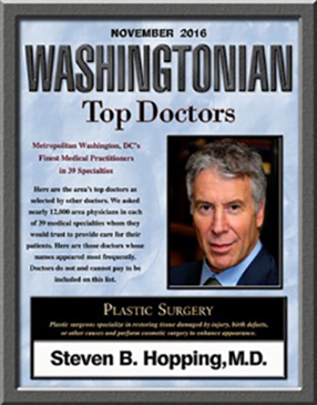 Washingtonian Magazine Features Dr. Steven Hopping